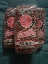 Camellia Famous New Orleans Red Beans Dry 3 Pack Lot