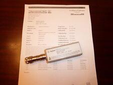Agilent / HP E9323A 50 MHz to 6 GHz Peak & Average Power Sensor - CALIBRATED!