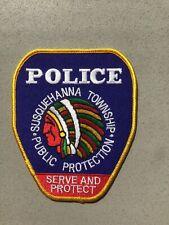 Susquehanna Township Pennsylvania Police Department Patch