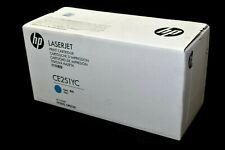 Genuine HP CE251YC Cyan Toner Cartridge CP3525 CM3530 (Sealed Box / Labeling)