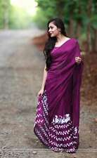 Bollywood Designer Party Wear Wine Color Georgette Fabric Thread Work  Saree