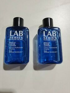 """Lab Series for Men Rescue Water Lotion TRAVEL / SAMPLE Size, 1.7 oz """"2 PACK"""""""
