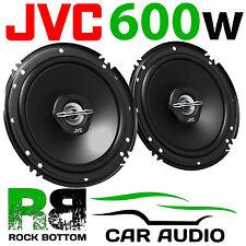 JVC 600 WATTS 6.5 Inch 16cm 2 Way Car Van Truck Door Dash Shelf Speakers Pair