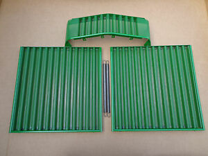 Front side screen set of 2 with springs & front grill for John Deere 2510 2520