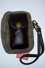 Universal Waterproof Canvas Compact Digital Camera Case Sony Samsung Kodak