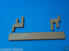 PLAYMOBIL Western - Poutre de fermeture des portes marron-clair avec 2 crochets