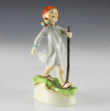 "Royal Worcester 'Thursday's Child Has Far To Go"" Porcelain Figurine"