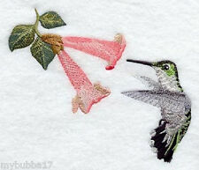 Hummingbird U Pic design Set Of 2 Hand Towels Embroidered New by laura