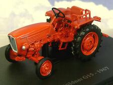 EXCELLENT U/H HACHETTE DIECAST 1/43 1967 GULDNER G15 G 15 TRACTOR IN RED TR25