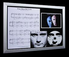 PHIL COLLINS This Must Be Love TOP QUALITY CD FRAMED DISPLAY-EXPRESS GLOBAL SHIP
