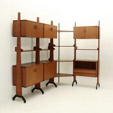Libreria angolare AV Arredamenti Contemporanei anni '60, bookcase, mid century