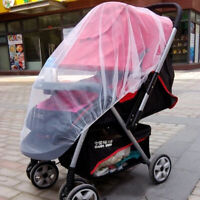 Stroller Pushchair Pram Mosquito Fly Insect Net Mesh Buggy Cover for Baby