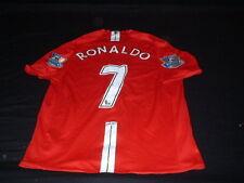 Manchester United Inglaterra Fútbol Gran Mans Ronaldo No7 2007/08 EPL Campeones