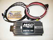 MSD 6AL Ignition Box Black Digital 6AL Rev Limiter Free Shipping SBC BBC SBF