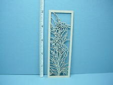 Dollhouse Miniature Decorative Glazed Door Mullion # L-D Laser Creations 1/12th