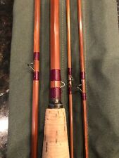 Orvis 3/2 Bamboo Impregnated Special Fly Rod 8 1/2 ft Hch No Reserve