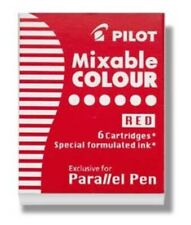 Pilot Parallel Ink Cartridges in Red - Pack of 6 - NEW P77307