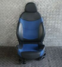 BMW Mini Cooper S R53 Front Left N/S Sport Cloth / Leather Satellite Blue Seat