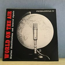 World On The Air Station Identifications And Interval Signals 1976 Vinyl LP