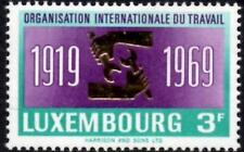 (Ref-12400) Luxembourg 1969 Int.Labour Organisation 50th Anniv SG.840 Mint (MNH)