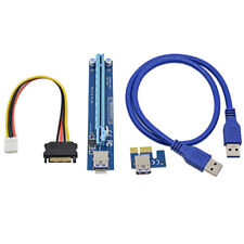 USB 3.0 PCI-E Express 1x To 16x MINING rig bitcoin, Ethereum, zcash, monero