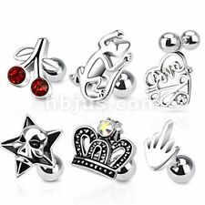 Surgical Steel Tragus Studs