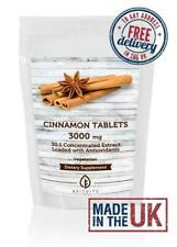 Cinnamon Tablets 3000mg 30:1 Extract Dietary Pills UK