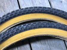 OLD SCHOOL BMX 20 INCH VEE RUBBER TIRES 20 X 1.75 NOS 47-406 BMX FREESTYLE HARO