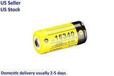 Klarus 16340 3.7V 650mAh Rechargeable Li-Ion Battery