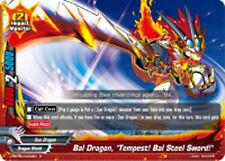 "Buddyfight x 4 Bal Dragon, ""Tempest! Bal Steel Sword!"" [D-BT02/0025EN R] English"