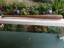 Vintage Hillerich and Bradsby eddie Mathews 1950s Leader  baseball Bat