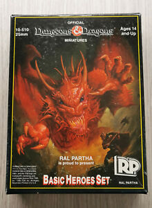 Dungeons & Dragons D&D Basic Heroes Set - Ral Partha