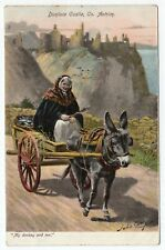 """Dunluce Castle, Co. Antrim - """"My donkey and me."""""""