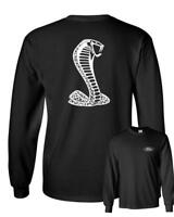 Licensed Ford Cobra Mustang Shelby Long Sleeve T-Shirt