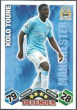 TOPPS MATCH ATTAX 2009-10-MANCHESTER CITY & IVORY COAST-KOLO TOURE