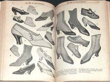 ABC of shoe manufacturing 1915 Shoe Maker Cobbler Shoe manufacture RAR!