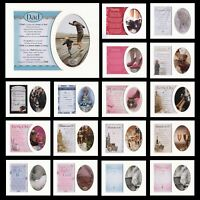"Keepsake 8"" X 10"" Photo Mount with Sentiment - Birthday Baby Mum Graduation...."