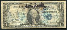 "1935-A $1 ONE DOLLAR SILVER CERTIFICATE ""SHORT SNORTER"""