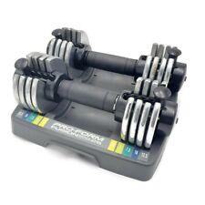 Pro-Form Fusion Space Saver 25 Pair Adjustable Dumbbells 2.5 5 7.5 10 12.5 lb
