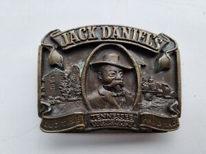Jack Daniels Belt Buckle 1989 Arroyo Grande - Tennessee Whiskey. Needs attention