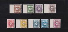 Gestempelte Briefmarken aus Deutschland (ab 1945) als Satz aus der sowjetischen Besatzungszone