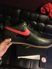 Men's Nike Shoes Brand New With Box. Army Green. Black. Red. Size 9.5