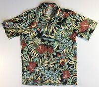 Hilo Hattie Mens Shirt Size Med The Hawaiian Original Summer Floral Flowers