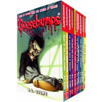 Goosebumps Series R. L. Stine 10 Books Collection Set Let's Get Invisible NEW
