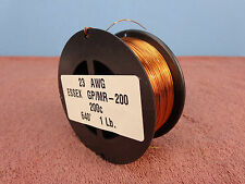 23 AWG...Enameled Magnet Wire..200c..1 lb..23 ga..640'   ESSEX...FREE  SHIPPING