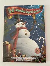 1 New Traditional Paper 24 Day Advent Calendar Filled Chocolate Treats Christmas