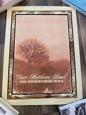 Dave Matthews Band DMB Poster - Bristow, VA 6/28/08 - Drive-In Leroi Moore