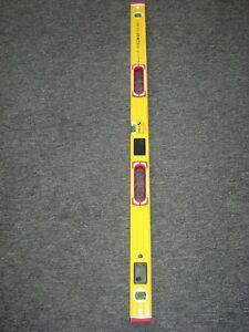 """Stabila 196-2 LED Double Plumb Illuminated Level 12cm / 48"""" 17393"""