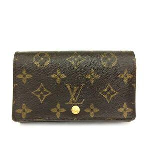 Louis Vuitton Monogram Porte Monnaie Billets Tresor Bifold Wallet /C1341