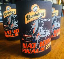 Bundaberg rum collectable stubby holders PBR National Finals 2009 Stubbie BLACK